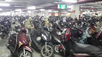 Vietnam has the highest amount of motorbikes per capita :)